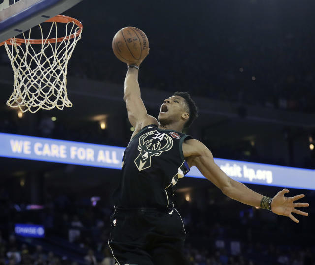 Is Giannis Antetokounmpo the best player left in the East? (AP)