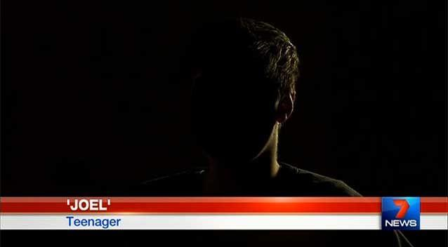 One high school student told 7 News children as young as 13 are sending explicit photographs. Photo: 7 News