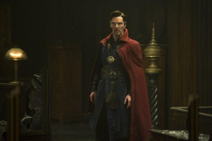 Cumberbatch... can't make it on set of Infinity War - Credit: Marvel