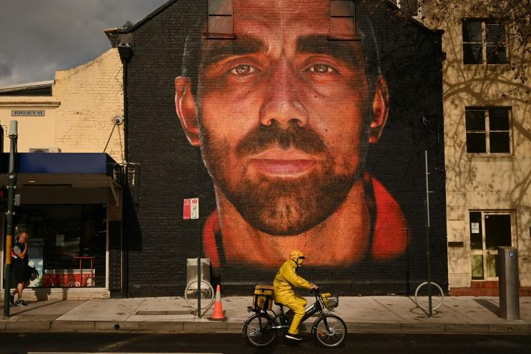 Adam Goodes, one of Australia's most high-profile indigenous sportsmen, retired in 2015 after persistent booing (AFP Photo/PETER PARKS)