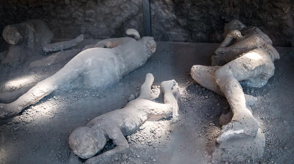 Victims covered in ash, Pompeii (Photo: sestovic via Getty Images)