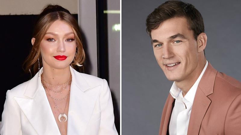 Tyler Cameron Supported Gigi Hadid at Her Grandmother's Funeral