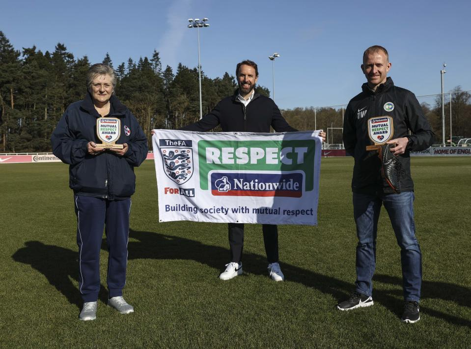 Tina Jacobs and Dan Weston are the winners of the first Nationwide Mutual Respect Award