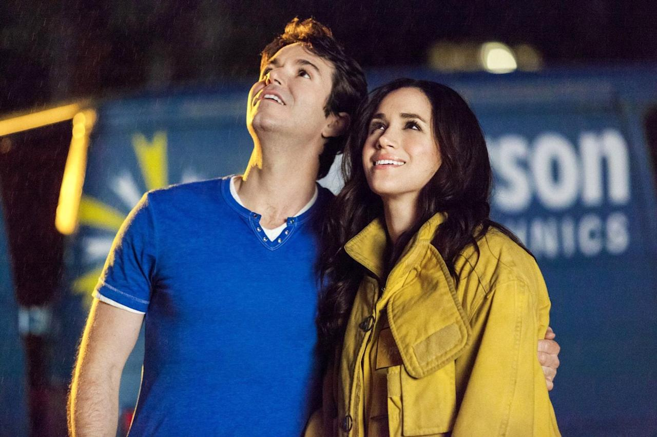 """<ul> <li><strong>Dater's Handbook: </strong>Markle searches for love as a woman named Cass in the Hallmark rom-com also starring Kristoffer Polaha and Jonathan Scarfe. Purchase the adorable movie on <a rel=""""nofollow"""" href=""""http://www.youtube.com/watch?v=YF40iim-S6U"""">YouTube</a>, <a rel=""""nofollow"""" href=""""http://play.google.com/store/movies/details?id=YF40iim-S6U"""">Google Play</a>, <a rel=""""nofollow"""" href=""""http://itunes.apple.com/us/movie/daters-handbook/id1179651854"""">iTunes</a>, or <a rel=""""nofollow"""" href=""""http://www.vudu.com/content/movies/details/Daters-Handbook/834948"""">Vudu</a>. </li> <li><strong>Anti-Social: </strong>Before she became a royal, Markle starred in this British crime drama alongside Gregg Sulkin and Josh Myers. Stream it on <a rel=""""nofollow"""" href=""""http://www.netflix.com/title/80176532?source=35"""">Netflix</a> or purchase it on <a rel=""""nofollow"""" href=""""https://www.popsugar.com/buy?url=https%3A%2F%2Fwww.amazon.com%2Fgp%2Fvideo%2Fdetail%2FB01MXY9D8T%2Fref%3Datv_dl_rdr&p_name=Amazon%20Prime&retailer=amazon.com&evar1=buzz%3Aus&evar9=45910250&evar98=https%3A%2F%2Fwww.popsugar.com%2Fentertainment%2Fphoto-gallery%2F45910250%2Fimage%2F45910295%2FMovies&list1=movies%2Cmeghan%20markle&prop13=mobile&pdata=1"""" rel=""""nofollow"""">Amazon Prime</a>, <a rel=""""nofollow"""" href=""""http://itunes.apple.com/gb/movie/anti-social-special-edition/id1177068848"""">iTunes</a>, <a rel=""""nofollow"""" href=""""http://www.youtube.com/watch?v=wNCbay6Id_M"""">YouTube</a>, <a rel=""""nofollow"""" href=""""http://play.google.com/store/movies/details?id=wNCbay6Id_M"""">Google Play</a>, or <a rel=""""nofollow"""" href=""""http://www.vudu.com/content/movies/details/title/841176"""">Vudu</a>. </li> <li><strong>Random Encounters: </strong>Even though Markle isn't the star of this romantic comedy, she plays a girl named Mindy who is tasked with helping her friend find love. The movie is available to stream for free on <a rel=""""nofollow"""" href=""""http://www.vudu.com/content/movies/details/Random-Encounters/493332"""">Vudu</a> and <a rel=""""nofollow"""" hre"""