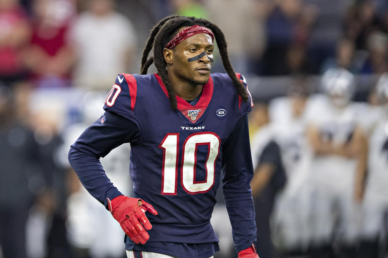 DeAndre Hopkins #10 of the Houston Texans