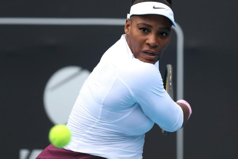 Serena Williams is auctioning off a dress she wore on the court at this week's WTA Auckland Classic