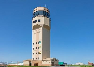 McConnell Air Force Base Air Traffic Control Tower (PRNewsfoto/Burns & McDonnell)