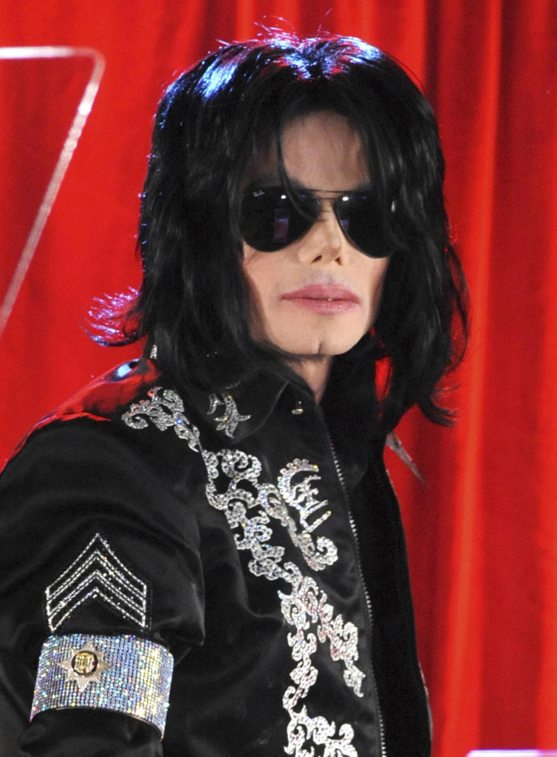 June 25th 2019 - The ten year anniversary of the death of entertainer Michael Jackson. Jackson was born on August 29th 1958 and died on June 25th 2009 at the age of 50. - File Photo by: zz/Suzan/AAD/STAR MAX/IPx 2009 3/5/09 Michael Jackson at a press conference at the O2 Arena announcing plans for his upcoming concert performances in London beginning in July. (London, England, UK)