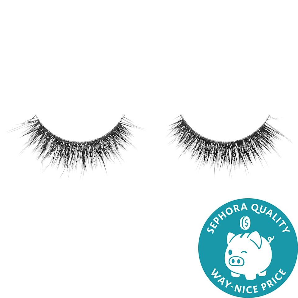 <p>The collaboration <span>House of Lashes x Sephora Collection Lashes</span> ($15) are handcrafted, synthetic fiber options in a range of densities to add a hint of fullness or really amp up volume as desired.</p>