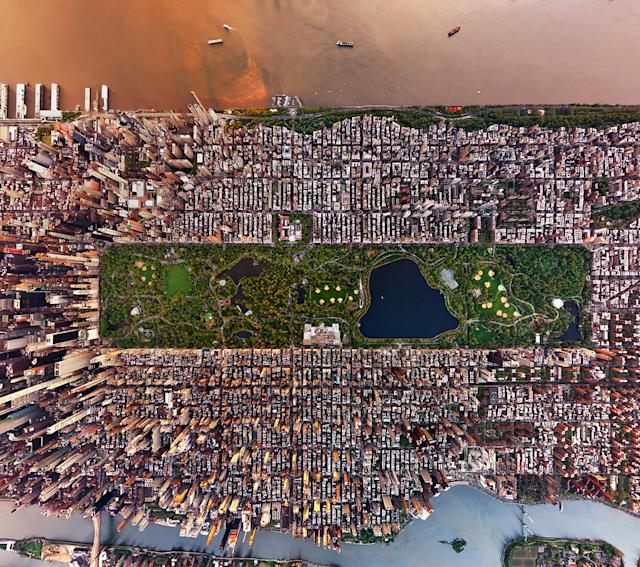 "<p>""It was this depth of culture that shaped my approach to the aerials and made capturing New York so unique and special for me."" (Photo: Andrew Griffiths/Lensaloft/Caters) </p>"