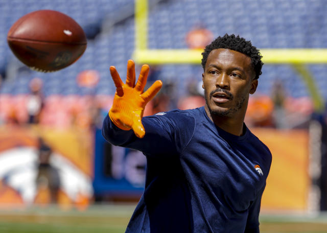 The Denver Broncos have traded receiver Demaryius Thomas to the Houston Texans. (AP)