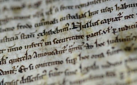 Salisbury Cathedral's 800-year-old copy of the Magna Carta is believed to be worth around £20 million - Credit: Salisbury Cathedral/PA