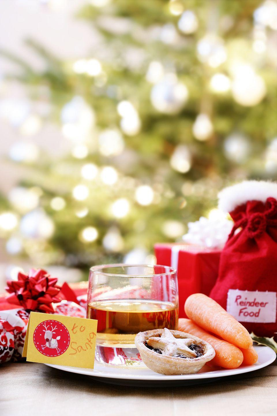 <p>To prepare for their long trip, Santa's reindeer are going to need food too. Just grab carrots, oats, and anything else in your pantry to mix up a bag for Rudolph and his friends.</p>