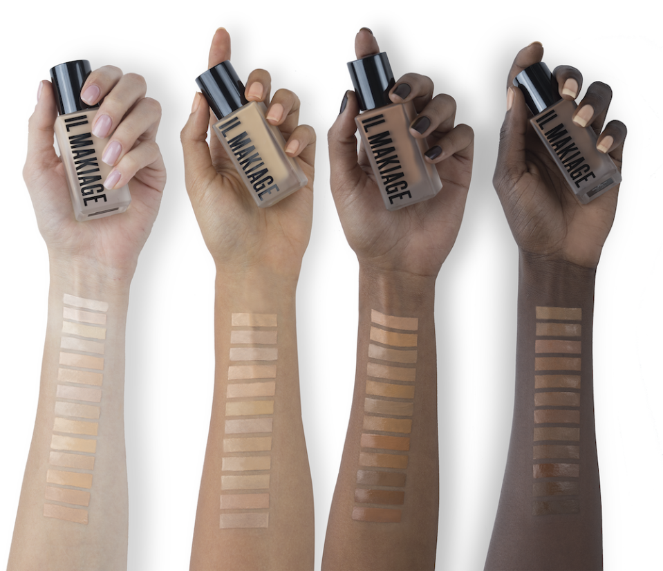 Il Makiage just launched their PowerMatch algorithm, which uses shade-matching machine learnings to find your perfect shade, without ever seeing your face.