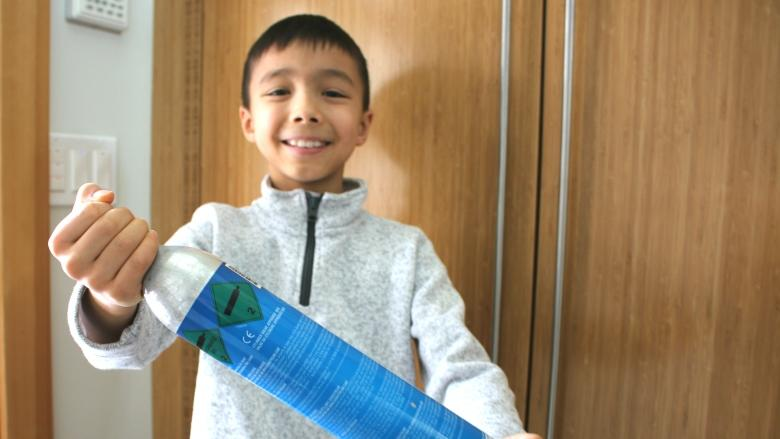 Nine-year-old 'Soda Kid' starts Calgary business cutting homemade soda costs
