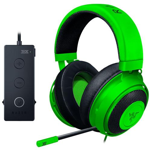 Razer Kraken Tournament Edition Gaming Headset with Microphone & USB Audio Controller. Image via Best Buy.