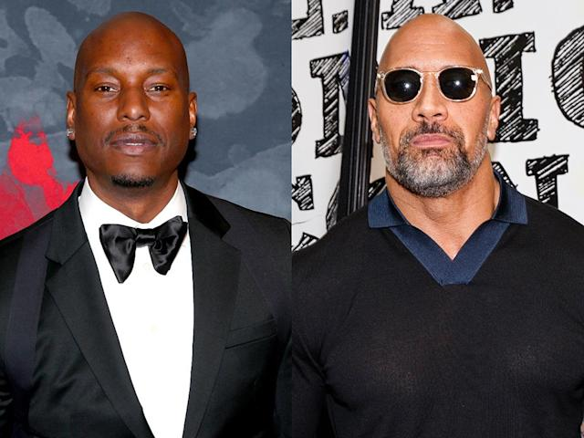 "Tyrese Gibson has escalated his feud with Dwayne ""the Rock"" Johnson. (Photo: Getty Images)"