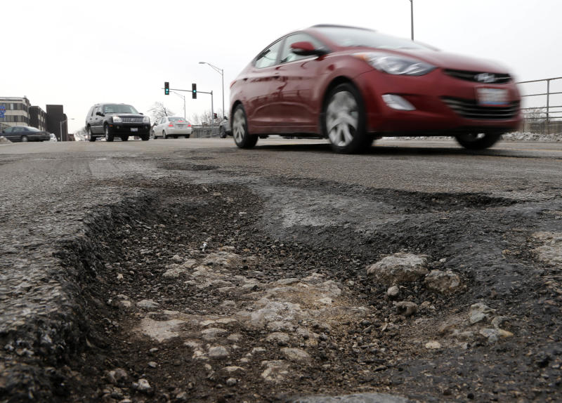 Winter takes toll on nation's pipes and pavement