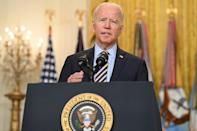 US President Joe Biden delivered a staunch defence of the US withdrawal this week