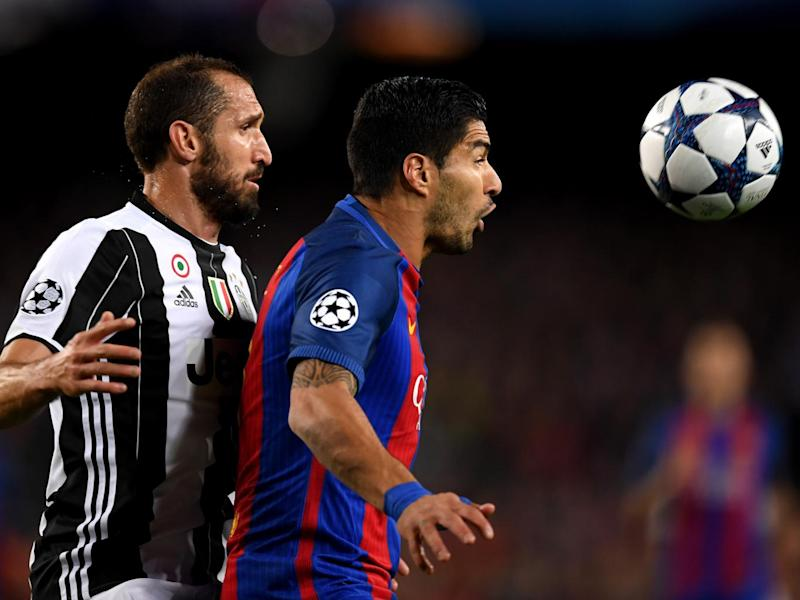 Chiellini kept a lid on a muted Suarez (Getty)