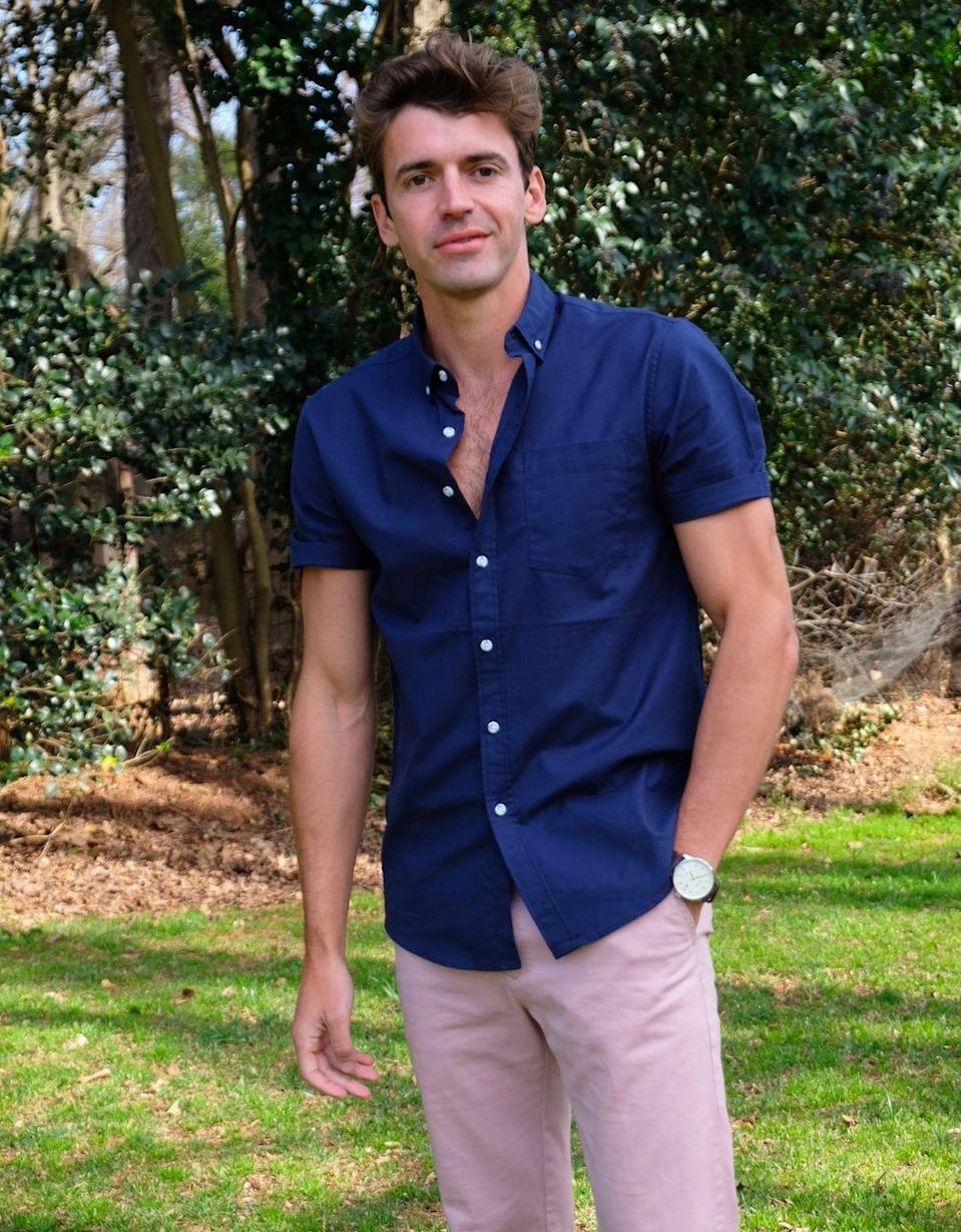 <p>He has some reality TV experience already. Gabriel appeared on Bravo's <em>Make Me A Supermodel</em>. </p><p><strong>Age: 35</strong></p><p><strong>Hometown: Charlotte, NC</strong></p><p><strong>Instagram:</strong></p>