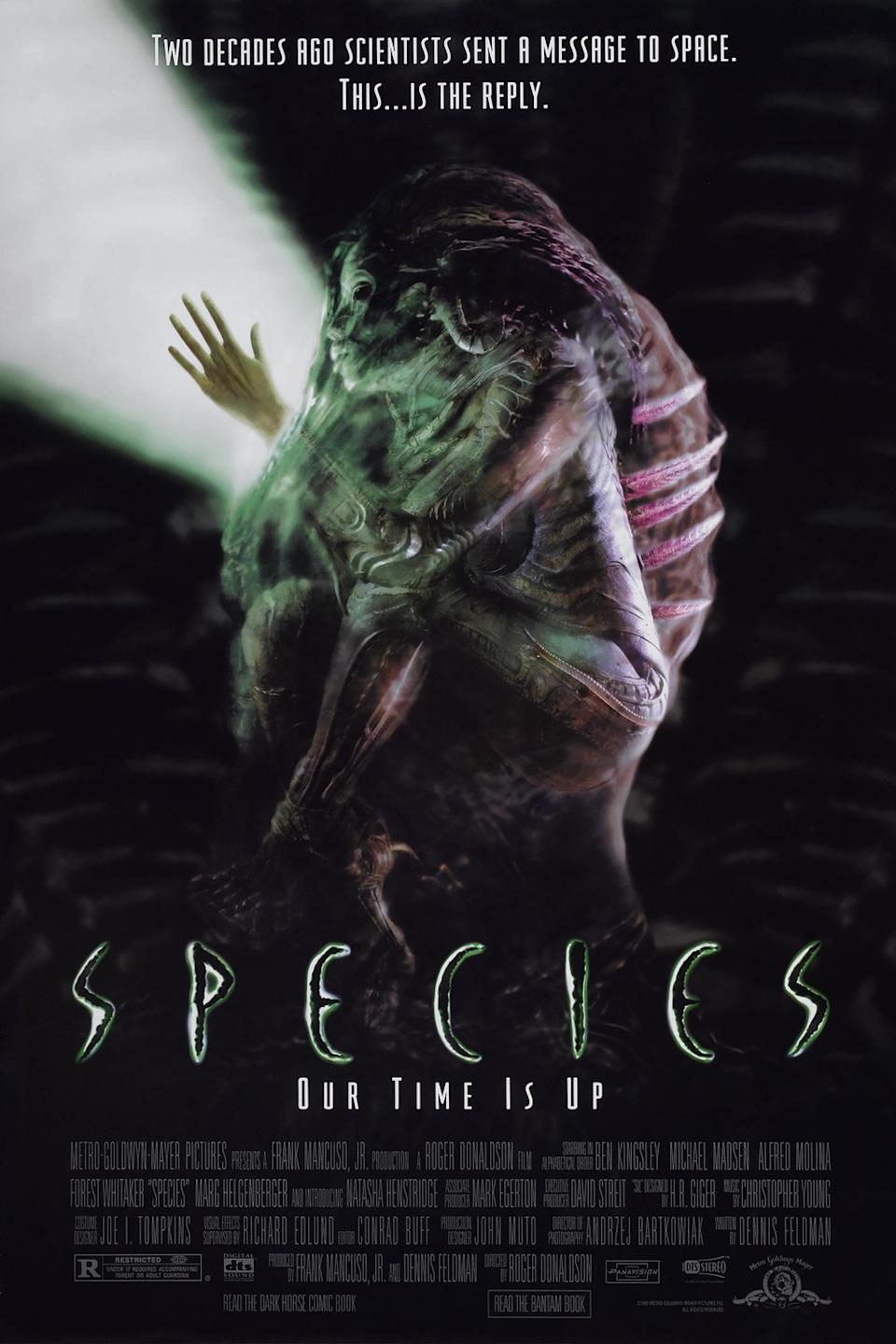 A poster for Species. (MGM)