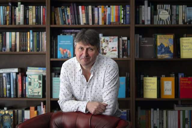 Poet Laureate Simon Armitage chaired the Queen's Gold Medal for Poetry committee. Victoria Jones/PA Wire