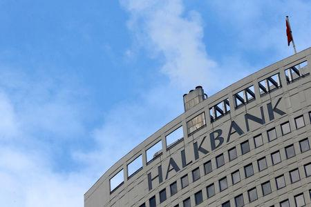 FILE PHOTO: Turkey's Halkbank headquarters are seen in Ankara December 17, 2013. REUTERS/Umit Bektas/File Photo