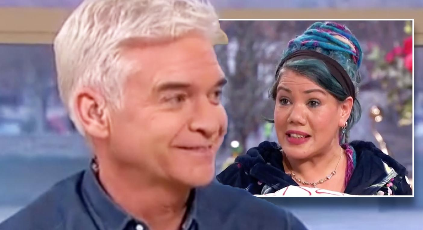 Alyssa Labelle Hot phillip schofield laughs as woman says she is marrying duvet