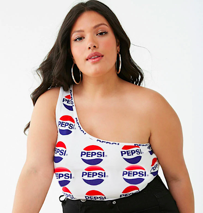 1b7c7a53 The Forever 21 x Pepsi collaboration is here, and it's everything you need  for summer