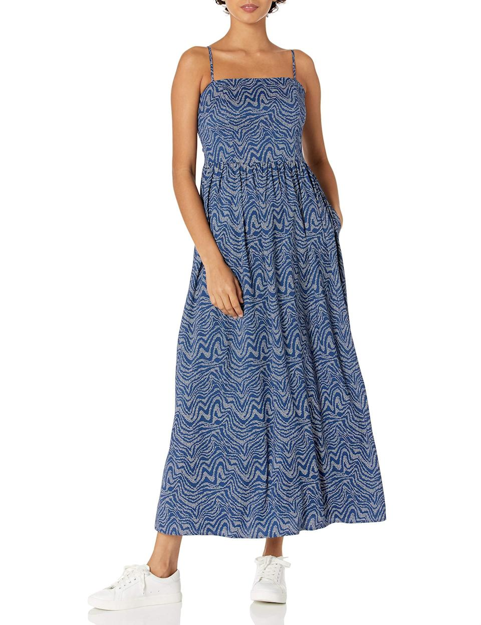 """<br><br><strong>Goodthreads</strong> Georgette Smock-Back Cami Maxi Dress, $, available at <a href=""""https://amzn.to/2SFHMJf"""" rel=""""nofollow noopener"""" target=""""_blank"""" data-ylk=""""slk:Amazon"""" class=""""link rapid-noclick-resp"""">Amazon</a>"""