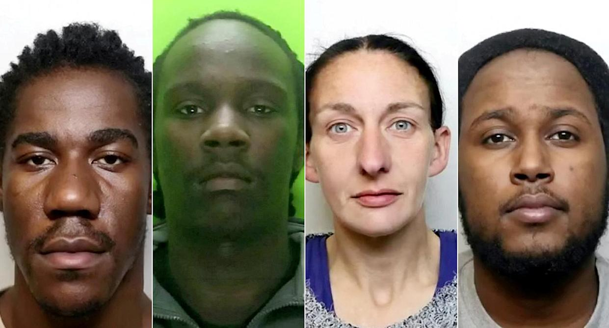 The gang were caught when taxi driver Shahid Iqbal, 41, who transported drugs and dealers around the city, unwittingly kept his taxi dash cam and was recorded bragging about their crimes.