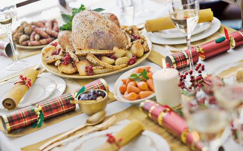 Christmas isn't the easiest time to encourage healthy eating - Credit: Sam Edwards/Getty Images Contributor