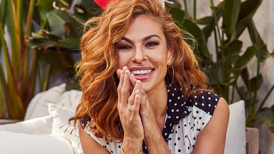 McHappy Day ambassador Eva Mendes has revealed she will no longer do risque film roles now she's a mother. Photo: Supplied