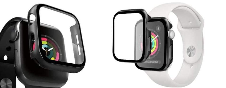 amFilm Apple Watch Case with Built-in Screen Protectors