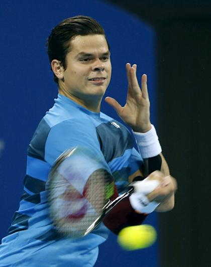 Raonic, who lost to Viktor Troicki in Beijing last week, will try to go further in Shanghai. (REUTERS/Kim Kyung-Hoon)