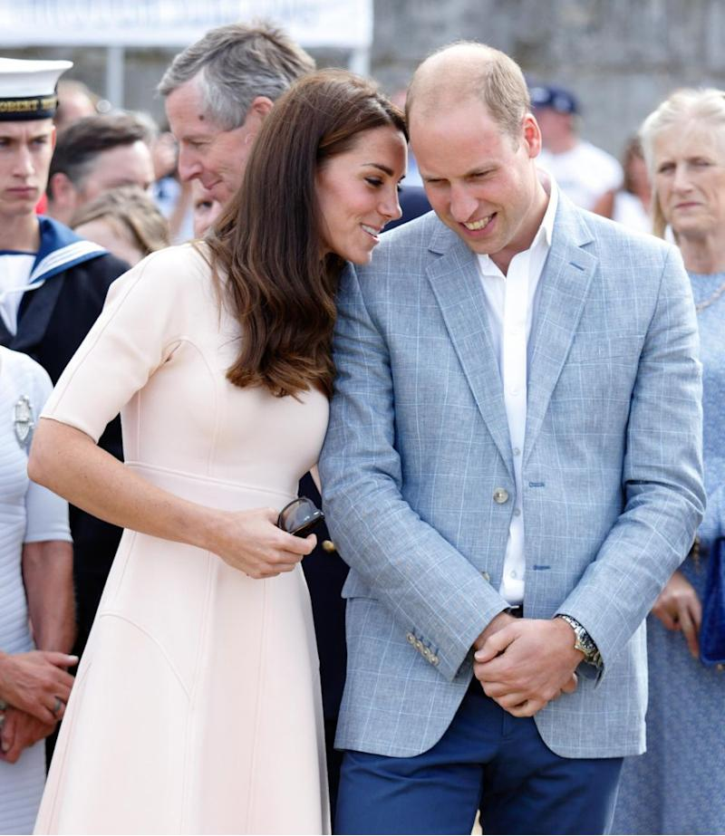 Despite almost always following royal protocol in public, the couple are still clearly in love. Photo: Getty