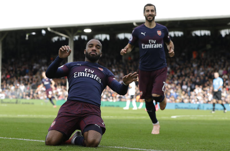 Twitter reacts as Arsenal demolish Fulham 5-1