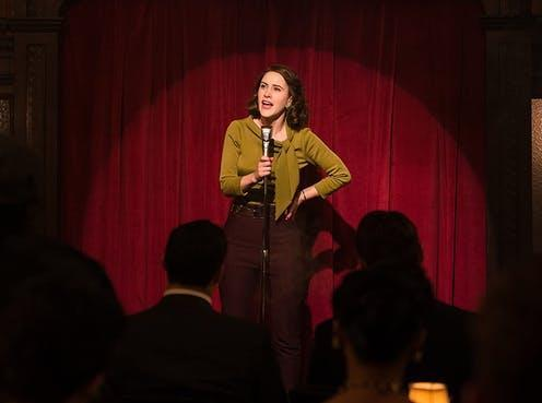 "<span class=""caption"">In the spotlight: Miriam 'Midge' Maisel in the hit series The Marvellous Mrs Maisel.</span> <span class=""attribution""><span class=""source"">Amazon Prime via IMDB</span></span>"