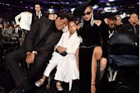 <p>We love Jay and Bey, but we're obsessed with Blue Ivy. The 6-year-old became our favorite Carter during the 2018 Grammys thanks to her now-famous side eye. </p>