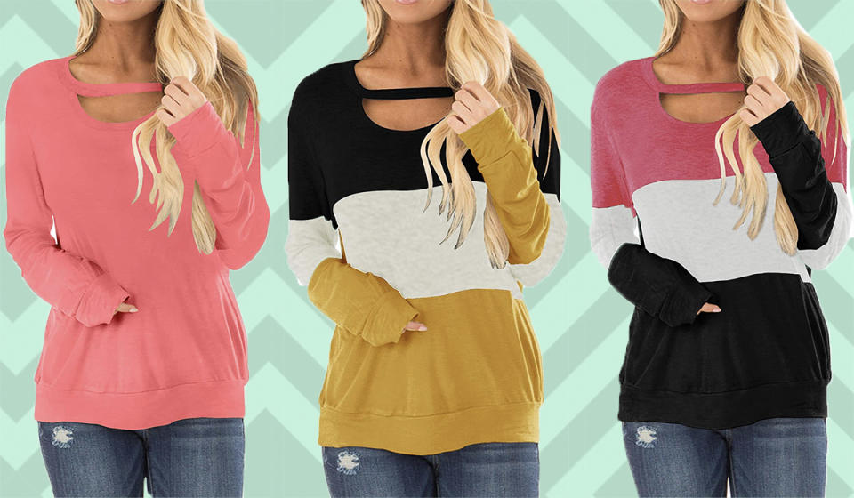 Perfect for cozy fall evenings. (Photo: Amazon)