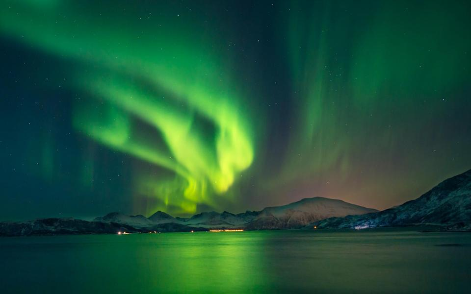 northern lights switzerland - Getty
