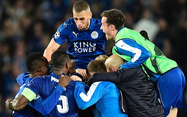 Leicester City knocked out Sevilla to reach this stage  - AFP or licensors