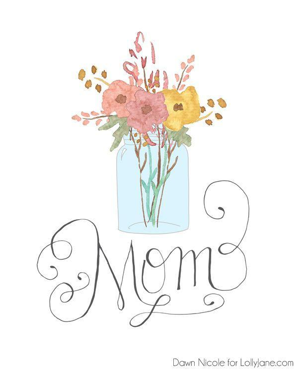 """<p>Print this design on textured cardstock and pair it with a fresh spring bouquet for a gift that's sure to brighten her day.</p><p><strong>Get the printable at <a href=""""http://lollyjane.com/free-printable-hand-lettered-mothers-day-cards/"""" rel=""""nofollow noopener"""" target=""""_blank"""" data-ylk=""""slk:Lolly Jane"""" class=""""link rapid-noclick-resp"""">Lolly Jane</a>.</strong> </p>"""
