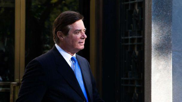 PHOTO: Former Trump campaign chairman Paul Manafort leaves federal court, Oct. 30, 2017 in Washington, D.C. (Keith Lane/Getty Images)