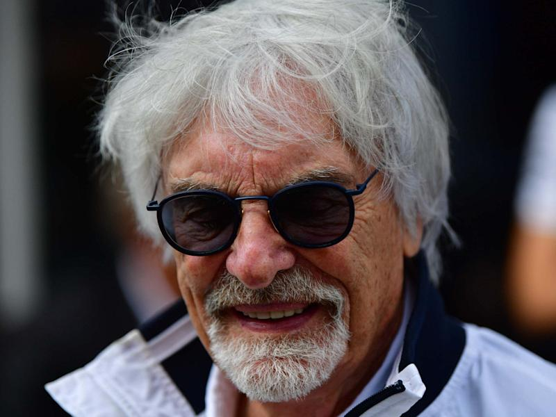 Bernie Ecclestone believes 'in many cases black people are more racist than white people': AFP via Getty