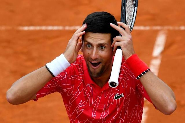Novak Djokovic has apologised after organising a widely criticised tournament then testing positive for coronavirus (AFP Photo/Andrej ISAKOVIC)