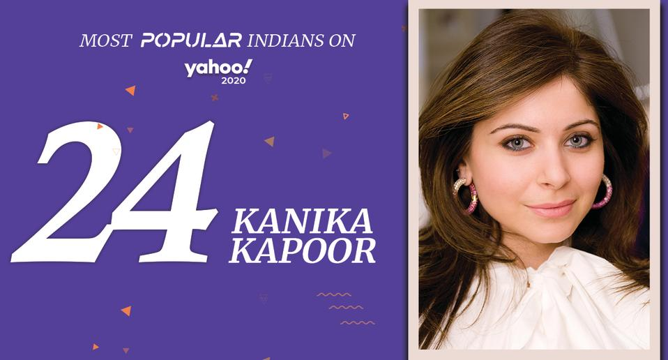 Kanika Kapoor (born 23 March, 1978) <br>Indian Singer