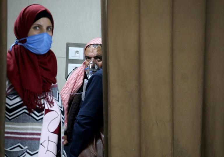 A health ministry official said intensive care units (ICUs) dedicated to coronavirus patients have reached full capacity across Damascus for the first time since coronavirus swept into Syria