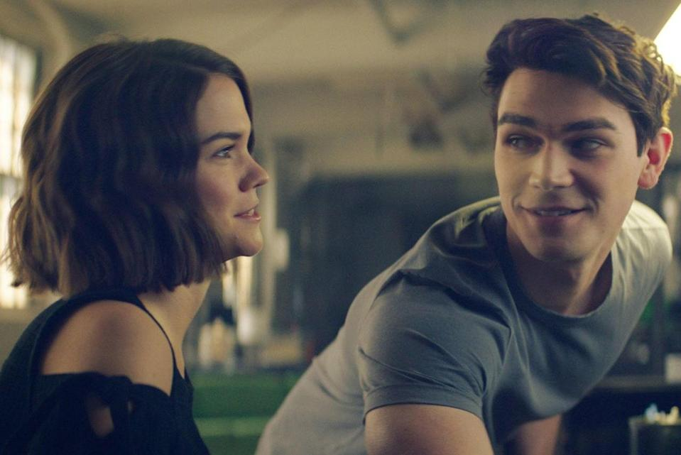 """<p>Remember how magical the last summer after high school feels? That time before everyone goes their separate ways for college or work, when there's no expectations or to-do lists on your plate? You can now revisit it, with Maia Mitchell and <em>Riverdale</em>'s KJ Apa, anytime you'd like on Netflix with <em>The Last Summer</em>. </p> <p><em>Available to stream on</em> <a href=""""https://www.netflix.com/title/80999729"""" rel=""""nofollow noopener"""" target=""""_blank"""" data-ylk=""""slk:Netflix"""" class=""""link rapid-noclick-resp""""><em>Netflix</em></a><em>.</em></p>"""